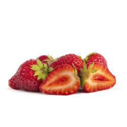 Ostara aardbeien van aardbeienplant