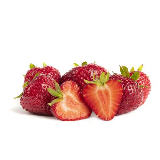Darselect aardbeien van aardbeienplant