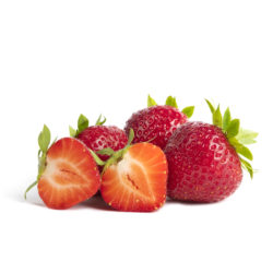 Faith aardbeien van aardbeienplant